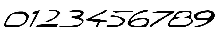 Jetta Tech Italic Font OTHER CHARS
