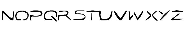 Jetta Tech Font UPPERCASE