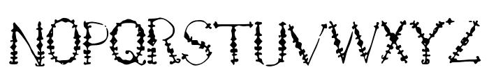 Jewels Font UPPERCASE