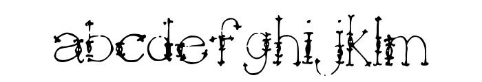 Jewels Font LOWERCASE