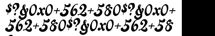 Jezebel Pro Font OTHER CHARS