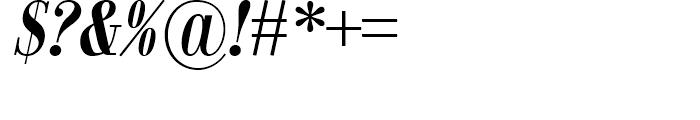 Jeles Bold Italic Font OTHER CHARS