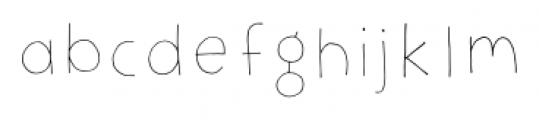 Jellygurp Monday Font LOWERCASE