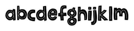 Jellygurp Regular Font LOWERCASE
