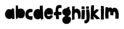 Jellygurp Thursday Font LOWERCASE