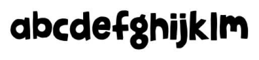 Jellygurp Wednesday Font LOWERCASE