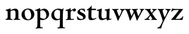 Jenson Recut Bold Font LOWERCASE