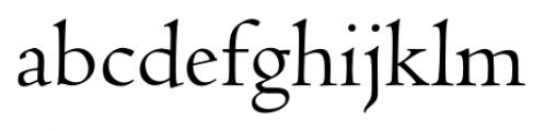 Jenson Recut Regular Font LOWERCASE