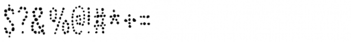 Jealous Mint Dot2 Font OTHER CHARS