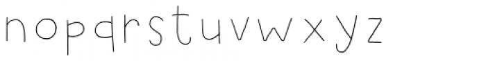 Jealous Punk Line 2 Font LOWERCASE