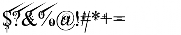 Jean Splice UpRite Font OTHER CHARS
