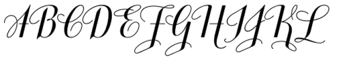Jeeves Bold Font UPPERCASE
