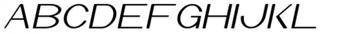 Jekatep Italic Font UPPERCASE