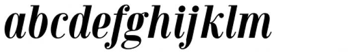Jeles Bold Italic Font LOWERCASE