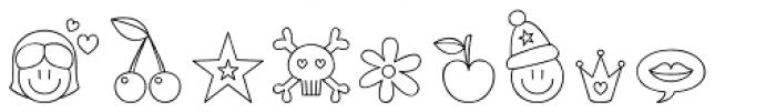 Jellodings Font UPPERCASE