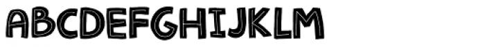 Jellygurp Font UPPERCASE