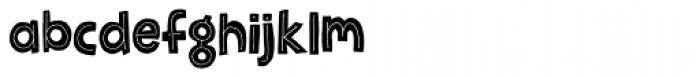 Jellygurp Font LOWERCASE