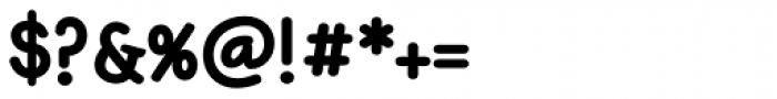 Jennerik ExtraBold Font OTHER CHARS