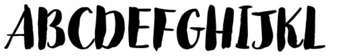 Jeremy Dark Font UPPERCASE