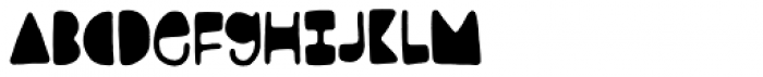 Jernhelbred Title Font LOWERCASE
