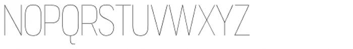 Jesaya UltraLight Font UPPERCASE