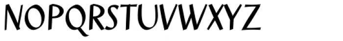 Jesper Regular Font UPPERCASE