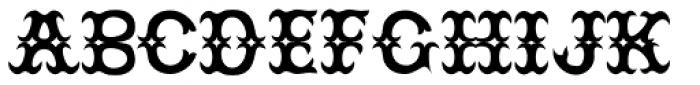 JesterRES Font UPPERCASE