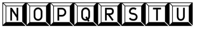 JetJaneButton Font UPPERCASE