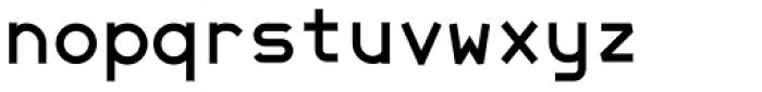 JetJaneMono Bold Font LOWERCASE