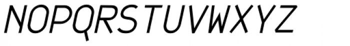 JetJaneMono Italic Font UPPERCASE
