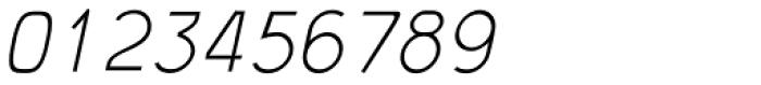 JetJaneMono Thin Italic Font OTHER CHARS