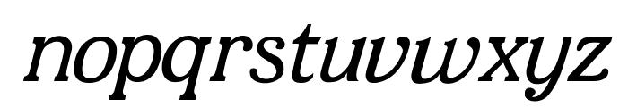 JF Shill Italic Font LOWERCASE