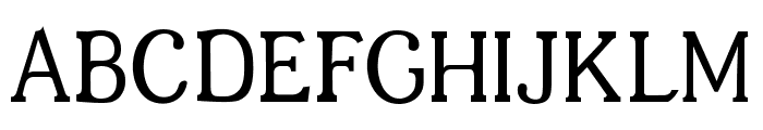 JF Shill Regular Font UPPERCASE