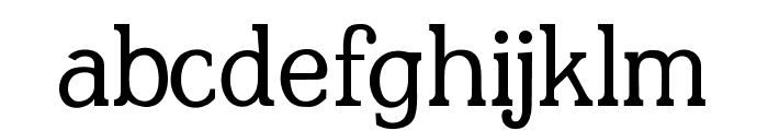 JF Shill Regular Font LOWERCASE