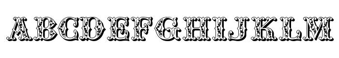 JFAutumnFair Font UPPERCASE