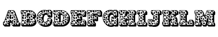 JFHollyDayz Font UPPERCASE