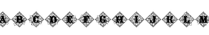 JFIvyLaceAlt Font UPPERCASE