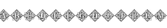 JFIvyLace Font LOWERCASE