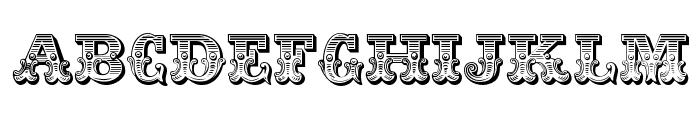 JFRingmaster Font UPPERCASE