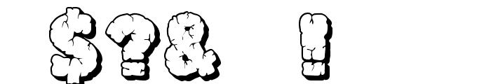 JFRockOutcrop Font OTHER CHARS