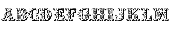 JFSpringFair Font UPPERCASE