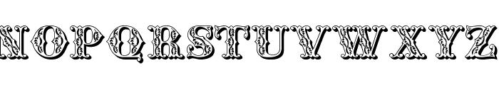 JFSummerFair Font UPPERCASE