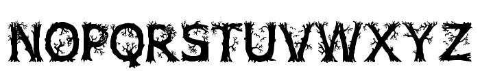 JFWildWood Font LOWERCASE