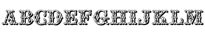 JFWinterFair Font UPPERCASE