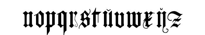 JGJ D?rer Gothic Font LOWERCASE