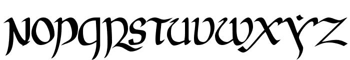 JGJ Uncial Font UPPERCASE