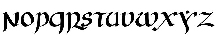 JGJ Uncial Font LOWERCASE