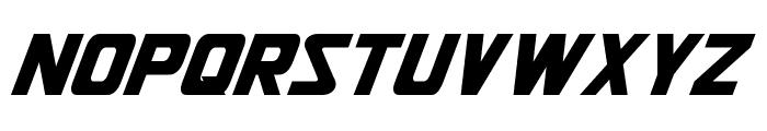 Jhiaxus Oblique Font LOWERCASE