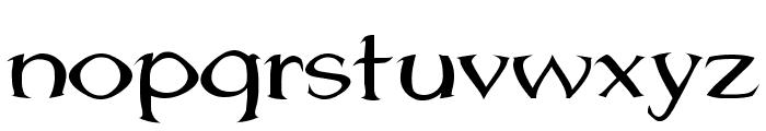 Jhunwest Convex Font LOWERCASE