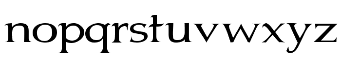 Jhunwest Font LOWERCASE
